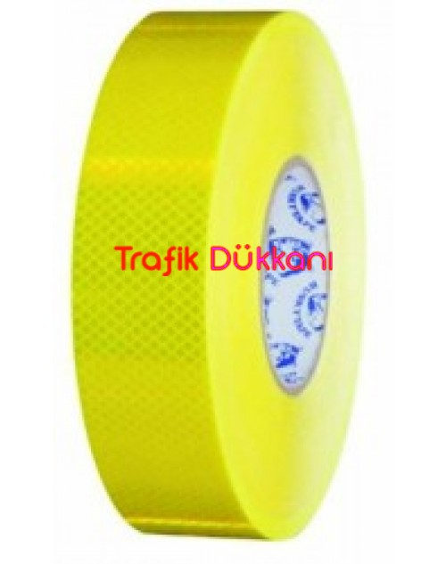 50MM*10MT. SARI REFLEKTİF BANT