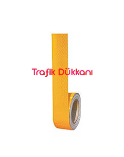 100MM*10MT. SARI REFLEKTİF BANT