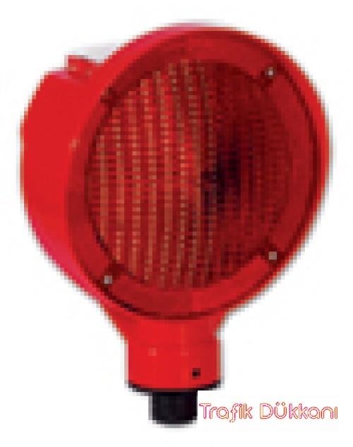 FLAŞÖRLÜ UYARI LAMBASI 11827 - SOLAR LED`Lİ FLAŞÖR LAMBA - 11827 FL K