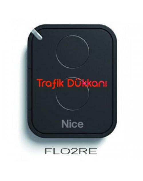 Nice Uzaktan Kumanda 2 Kanallı Flo2RE - Nice FLO2R-E Uzaktan Kumanda Vericisi – Çift Kanallı Rolling Kod Era FloR