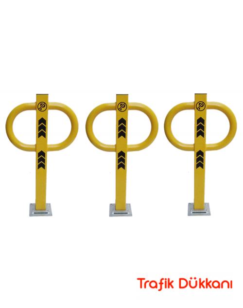 Çıkan Geniş Otopark Direği, Geniş Otopark Direği (Vidalanabilen) 4 lü Set