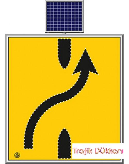 LED`Lİ YOLYAPIM VE ONARIM LEVHALARI - 110X120CM - SOLAR LED`Lİ YOL BAKIM LEVHASI(100x100cm) - TD2303