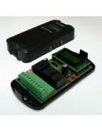 Loop dedektör Tek Kanallı 24 V Led Ekranlı - Manyetik Araç Dedektörü Kontal