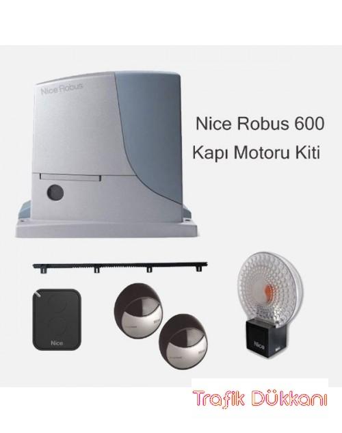 Nice Robus 600 Kayar Bahçe Kapısı Kiti - Robus600Kıt