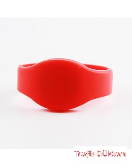 Rfid Bileklik - Havuz Bilekliği - Dayanıklı Havuz Bilekliği - Kırmızı Renk