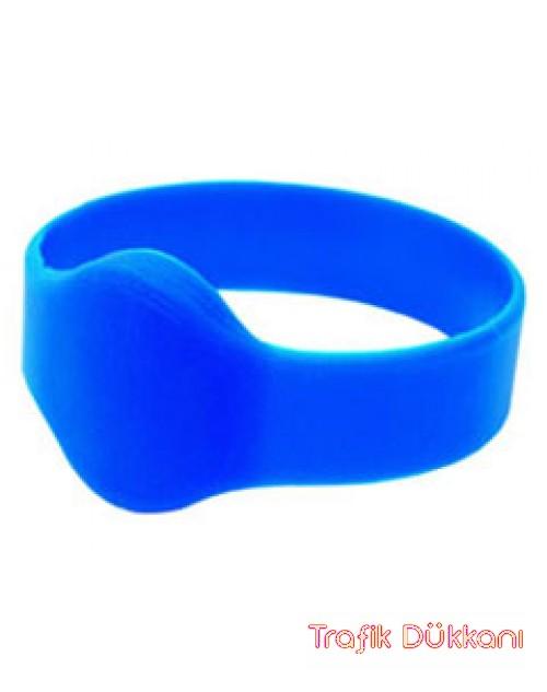 Rfid Bileklik - Havuz Bilekliği - Dayanıklı Havuz Bilekliği - Mavi Renk