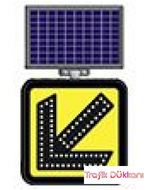 SOLDAN GİDİNİZ ( FLAŞÖRLÜ ) - SOLAR LED`Lİ FLAŞÖR LAMBA(30x30cm) - 11860 FL S