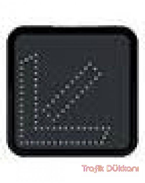 SOLDAN GİDİNİZ ( SAĞ/SOL YÖNDE UYARI ) - AC LED`Lİ YOL BAKIM LEVHASI(60x60cm) - TD2282