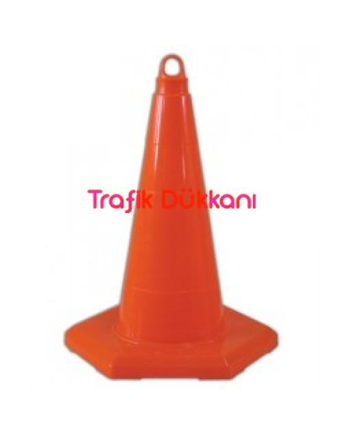 PVC TRAFİK KONİSİ - PVC KONİ (50 cm)  TD2332