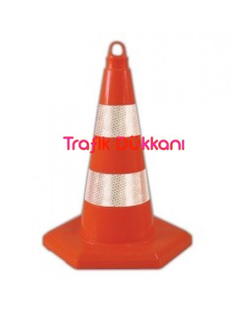 PVC TRAFİK KONİSİ - PVC KONİ (50 cm) - TD2333