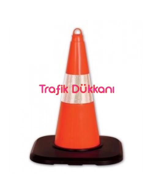 PVC TRAFİK KONİSİ - PVC KONİ (50 cm) - TD2319