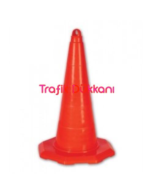PVC TRAFİK KONİSİ - PVC KONİ (50 cm)  - TD2325