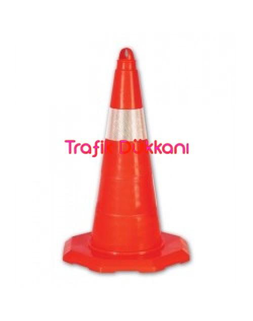 PVC TRAFİK KONİSİ - PVC KONİ (50 cm) - TD2326