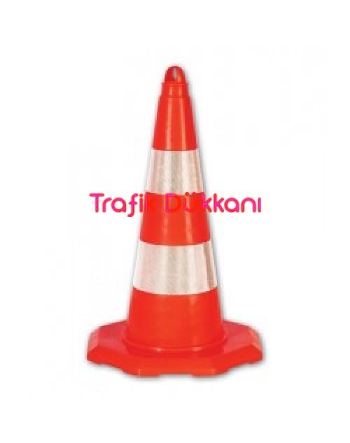 PVC TRAFİK KONİSİ - PVC KONİ (50 cm) - TD2327