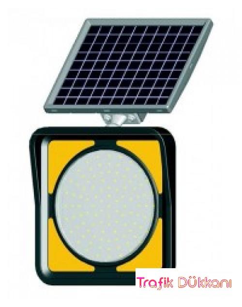 300mm Flaşör Lamba Ledli - SOLAR LED`Lİ FLAŞÖR LAMBA(Ø300mm) - 11850 FL S