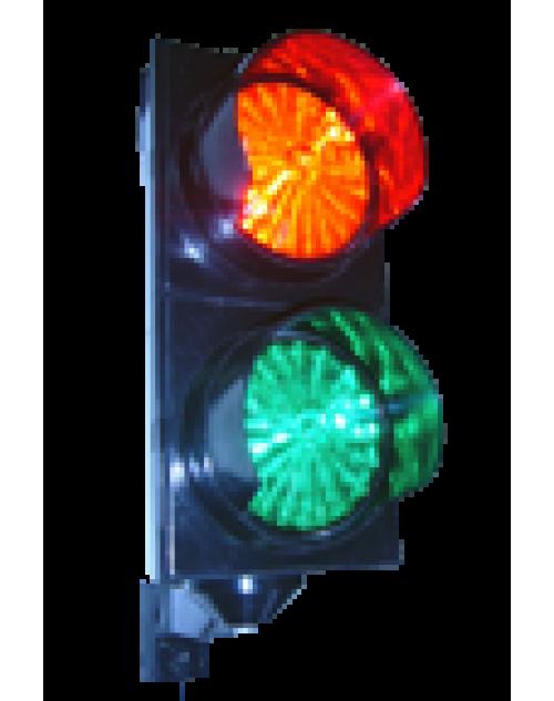 Trafik Lambası - Polikarbon - 12 V - Kırmızı Yeşil Trafik Lambası